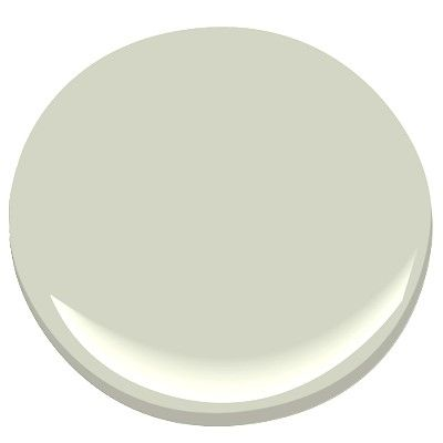 Benjamin Moore Silver Sage-gray or pale sagey green depending on the light