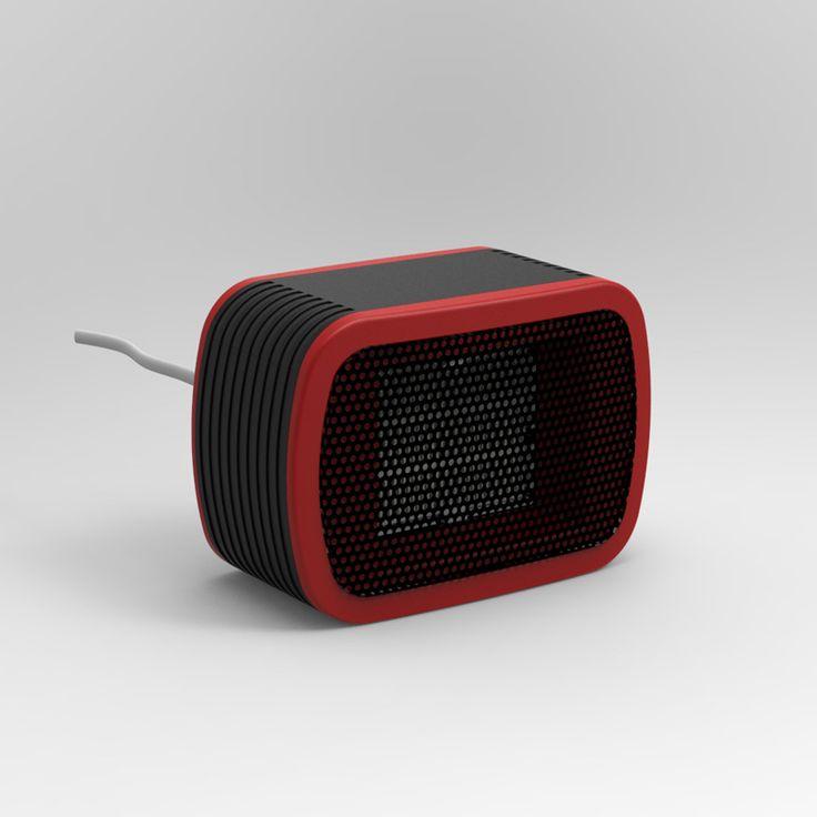 MinF01-3, envío libre, 500 W, pequeño ventilador Eléctrico Portátil Mini escritorio calentador Calor Inmediatamente cuando se enciende Europa VDE Enchufe