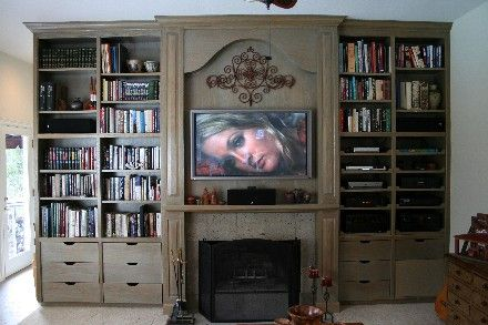153 Best Images About Entertainment Centers On Pinterest