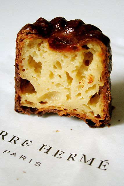 pierre herme' canele | speciality from the city of Bordeaux...love these at Melbourne farmer's markets!