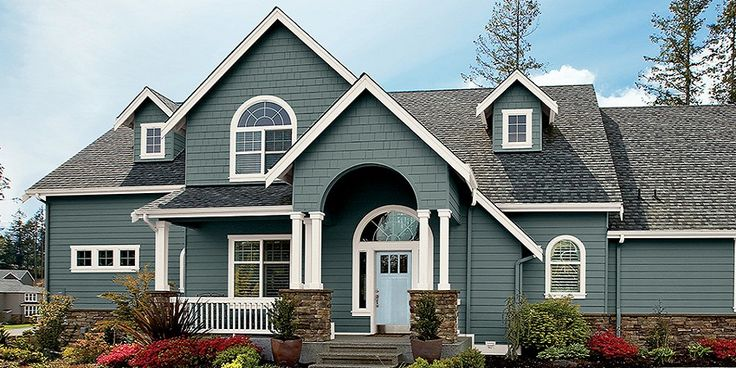 Design exterior house paint colors top trends 2018 - Best exterior color for small house ...