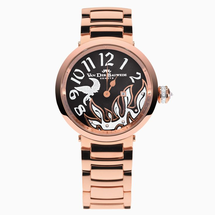 NEB-K Bird 13239 woman Watches Van der Bauwede N.2