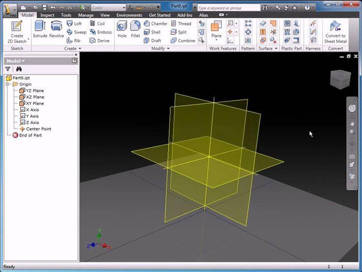 Part 1 - Sketching in Autodesk Inventor 2011
