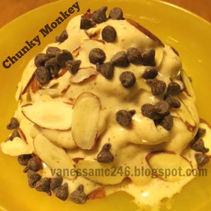 21 day cookbook fixate chunky monkey ice cream recipe