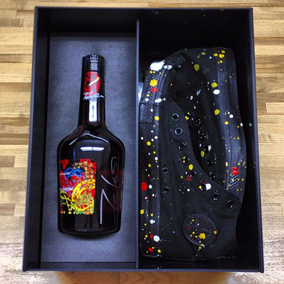 FUTURA X HENNESSY VERY SPECIAL COGNAC LIMITED EDITION BOTTLE – FRIENDS & FAMILY PACK