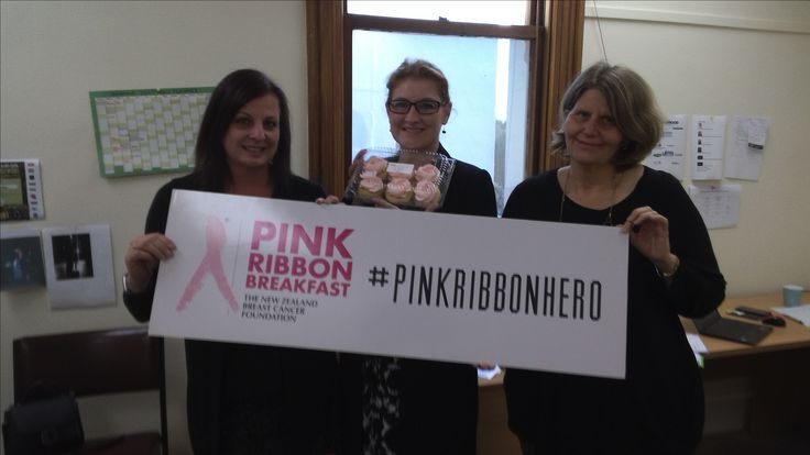 Amanda and the team at the Manawatu Chamber of Commerce - thank you for your support with emails, and fort buying cupcakes - you are #pinkribbonhero s #pnpinkribbon #pinkribbon