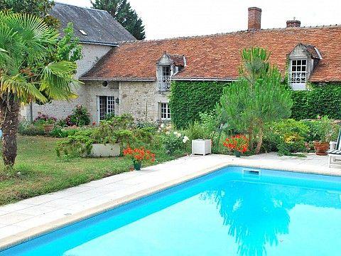 Gite près de Chinon, Indre et Loire à Cravant les Coteaux