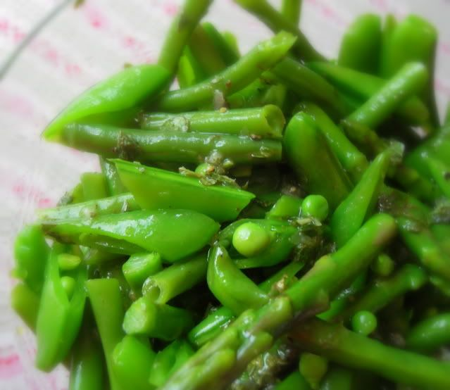 Summer Salad of Peas, Beans and Asparagus   The English Kitchen