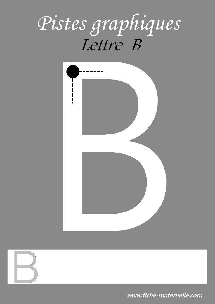 Des pistes graphiques à plastifier pour apprendre à écrire : les lettres de l'alphabet