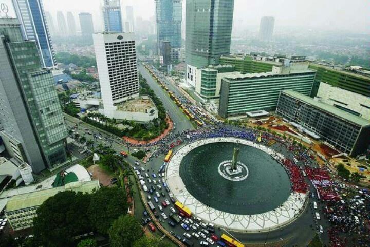 Bundaran HI - Indonesia