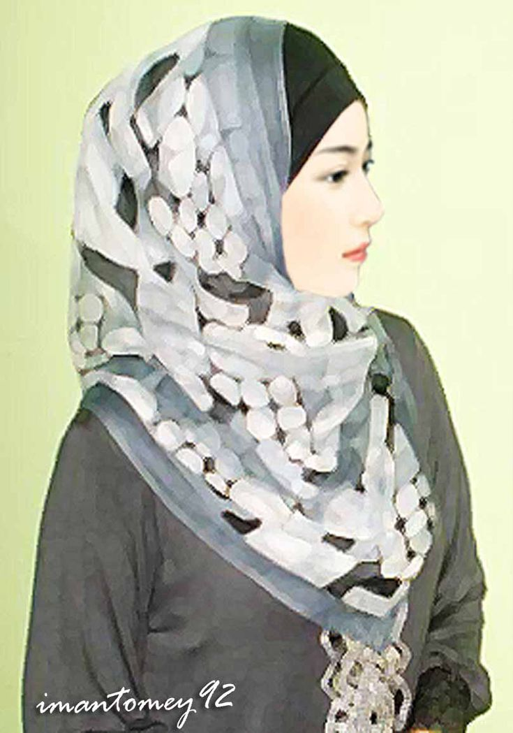 Muslimah Girl by imantomey92.deviantart.com on @deviantART