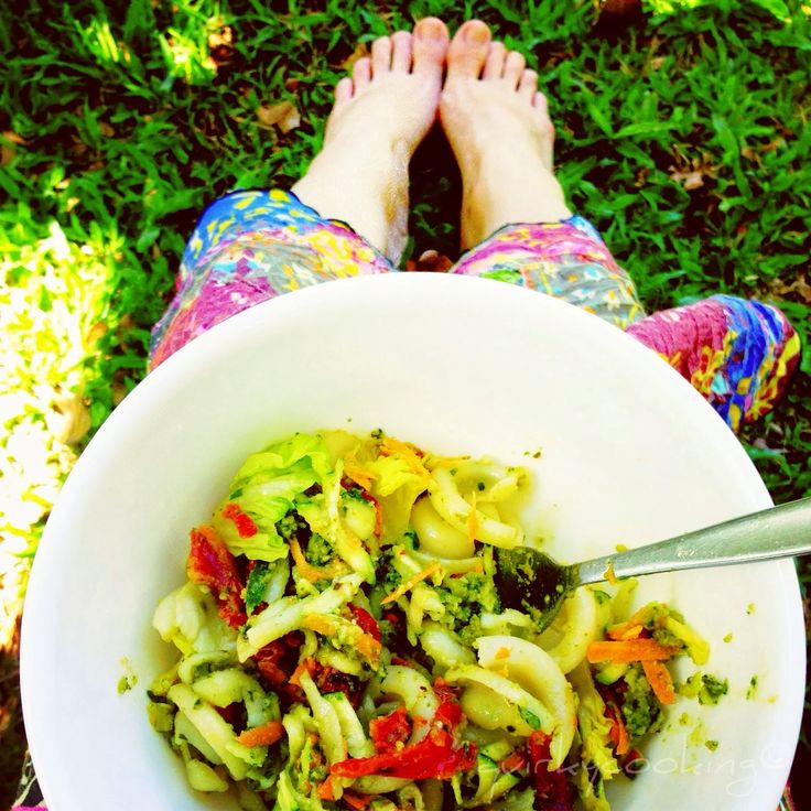 Quirky Cooking: Chicken Pesto Pasta Salad