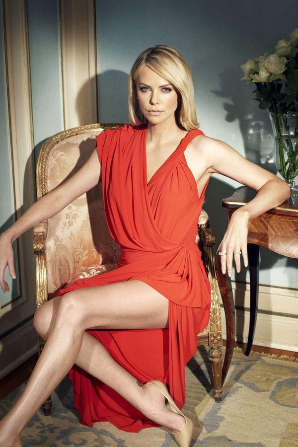 Charlize Theron In A Red Dress is listed (or ranked) 29 on the list The 40 Hottest Charlize Theron Photos of All Time