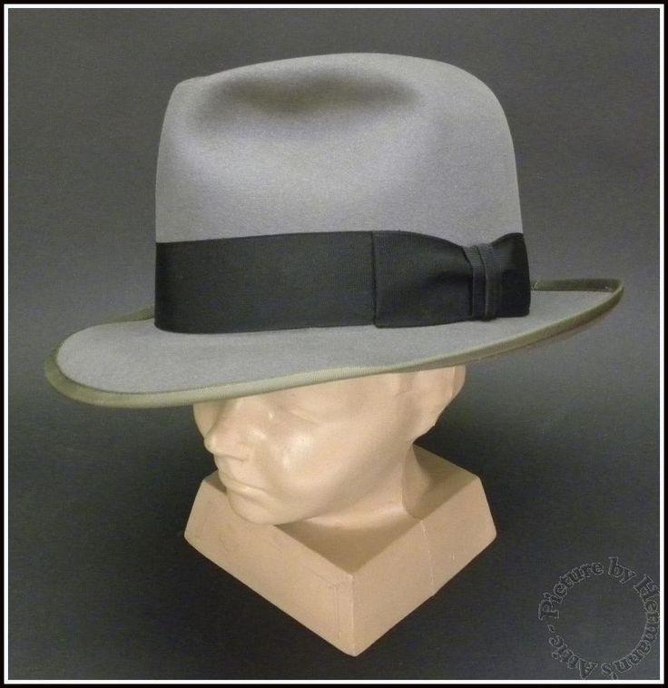 1920 S 1960 S Vintage Royal Stetson Whippet Gray Fur
