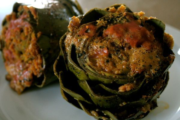 Stuffed artichokes. Yum! | Favorite Recipes | Pinterest