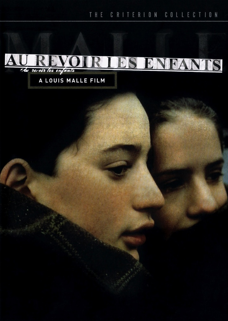 Criterion Collection cover for AU REVOIR LES ENFANTS (Louis Malle, France, 1987) | Designer: Criterion Collection