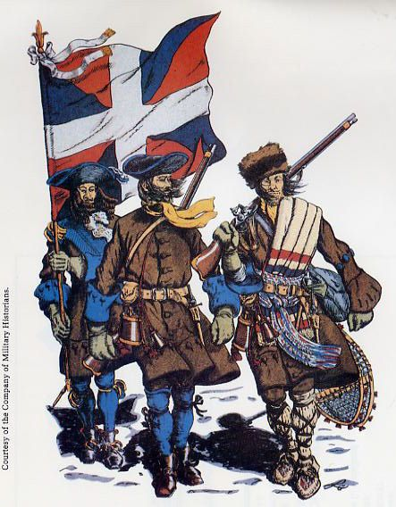 Soldiers of the Carignan-Salières Regiment