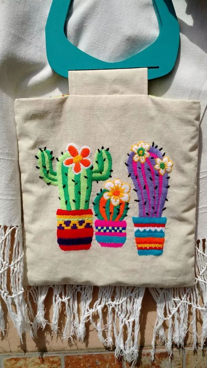kit bordado mexicano bags