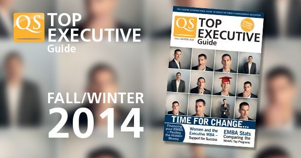 QS Top Executive Guide Spring 2014 | TopMBA.com