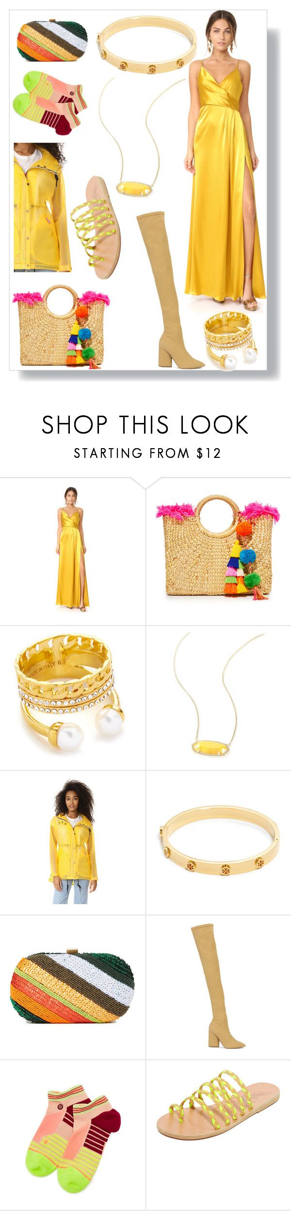 """""""About to change"""" by emmamegan-5678 ❤ liked on Polyvore featuring Jill by Jill Stuart, JADEtribe, Vita Fede, Kendra Scott, Hunter, Tory Burch, Santi, Yeezy by Kanye West, Stance and Ancient Greek Sandals"""