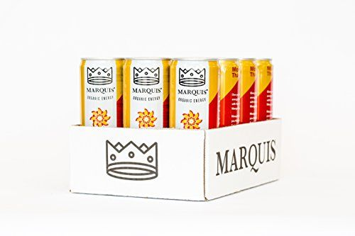 Marquis Organic Energy Drink, Mango Ginger, 12 Ounce (Pack of 12) * Read more info by clicking the link on the image.