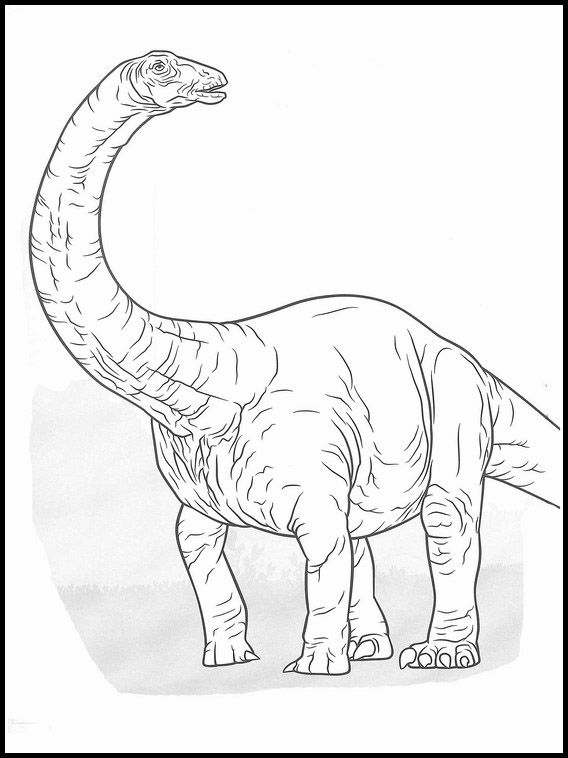 Jurassic World 7 Printable coloring pages for kids (com ...