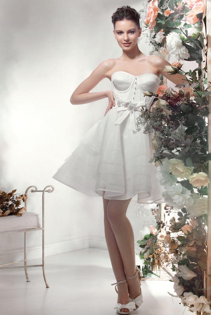 62 best Wedding Dresses: Short Skirts images on Pinterest ...
