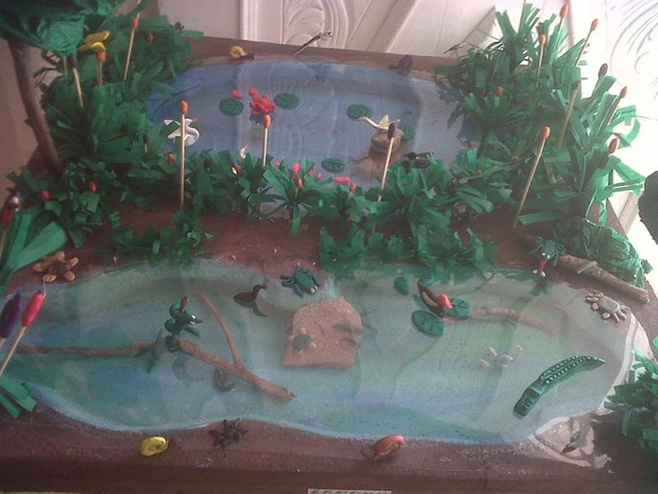 17 best images about maquetas on pinterest earth day for Como hacer una laguna artificial
