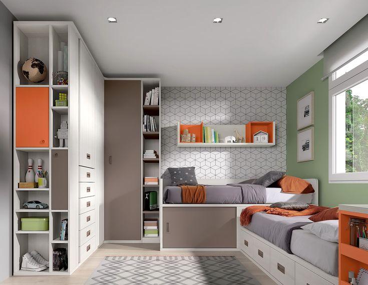Cat logo de habitaciones infantiles y juveniles de muebles for Catalogo de muebles juveniles