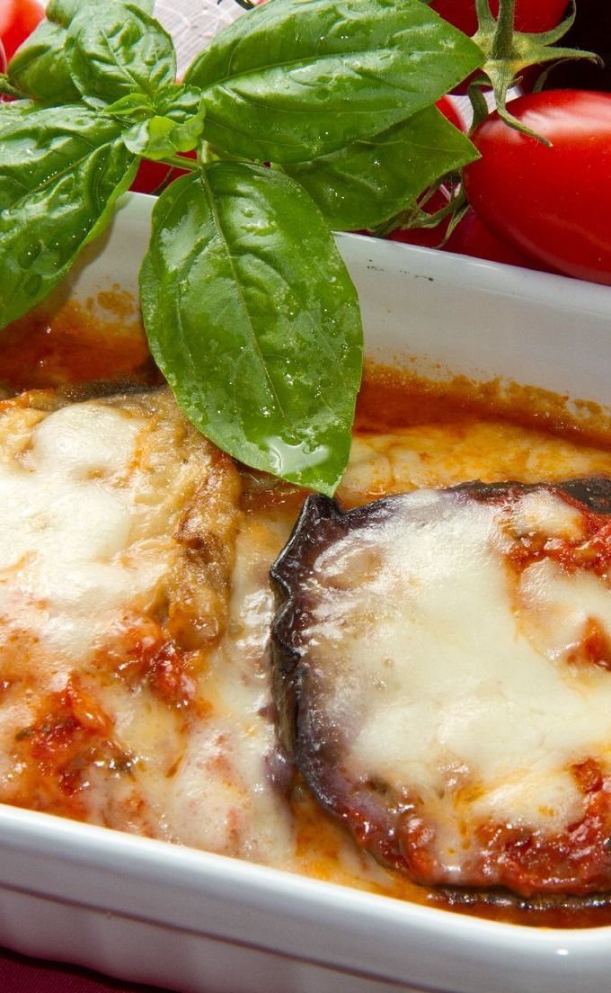 Weight Watcher Easy Cheesy Eggplant Casserole Recipe