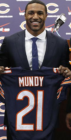 ryan mundy   Safety Ryan Mundy signed with the Bears on the first day of free ...