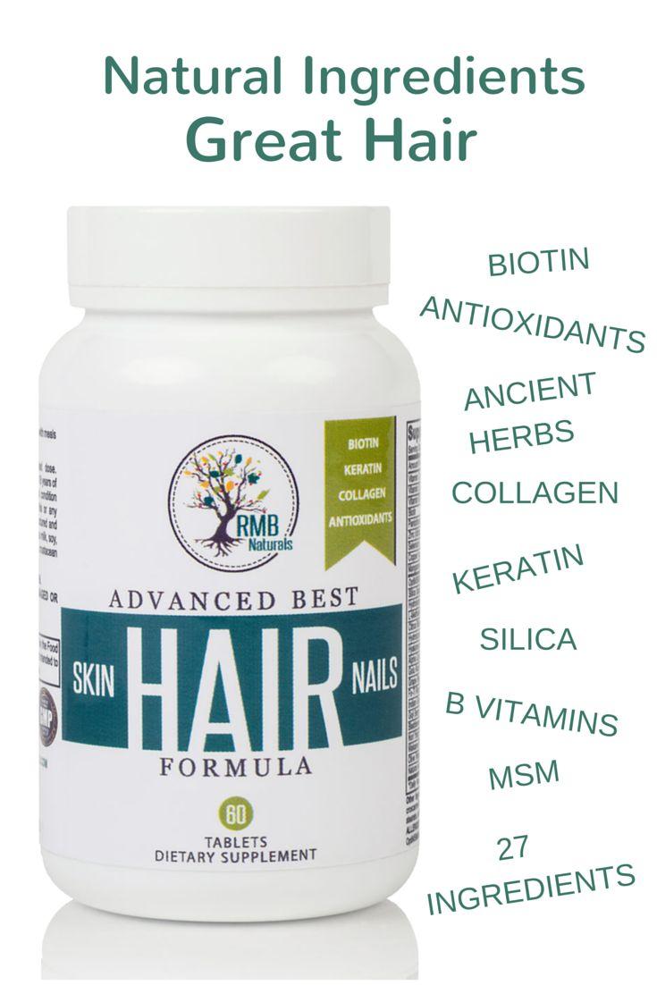 Natural Hair Vitmain. Increase Volume, grow longer hair. RMB Naturals @AnnieLoveAJ ☽♥☾