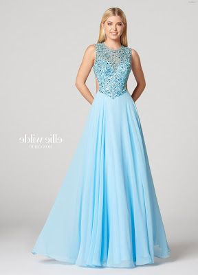 Vestidos de color azul celeste