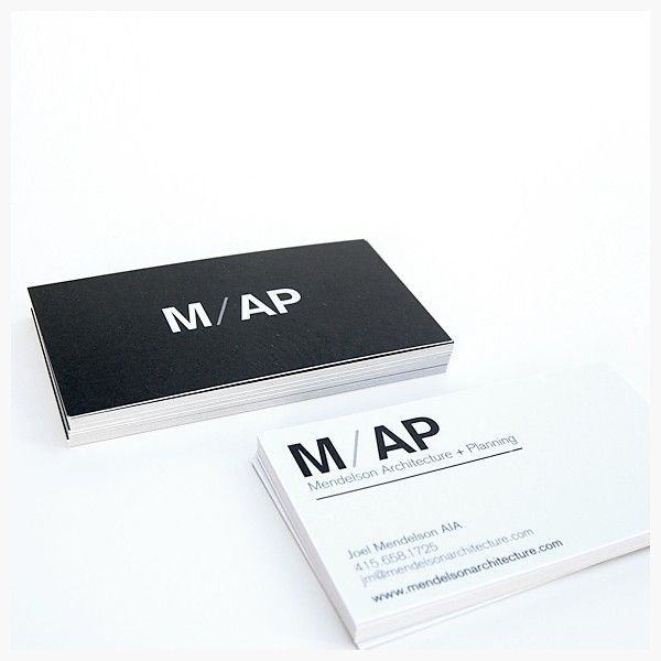 02 IS MAP 40 Architects Business Cards for Delivering Your Message the Creative Way