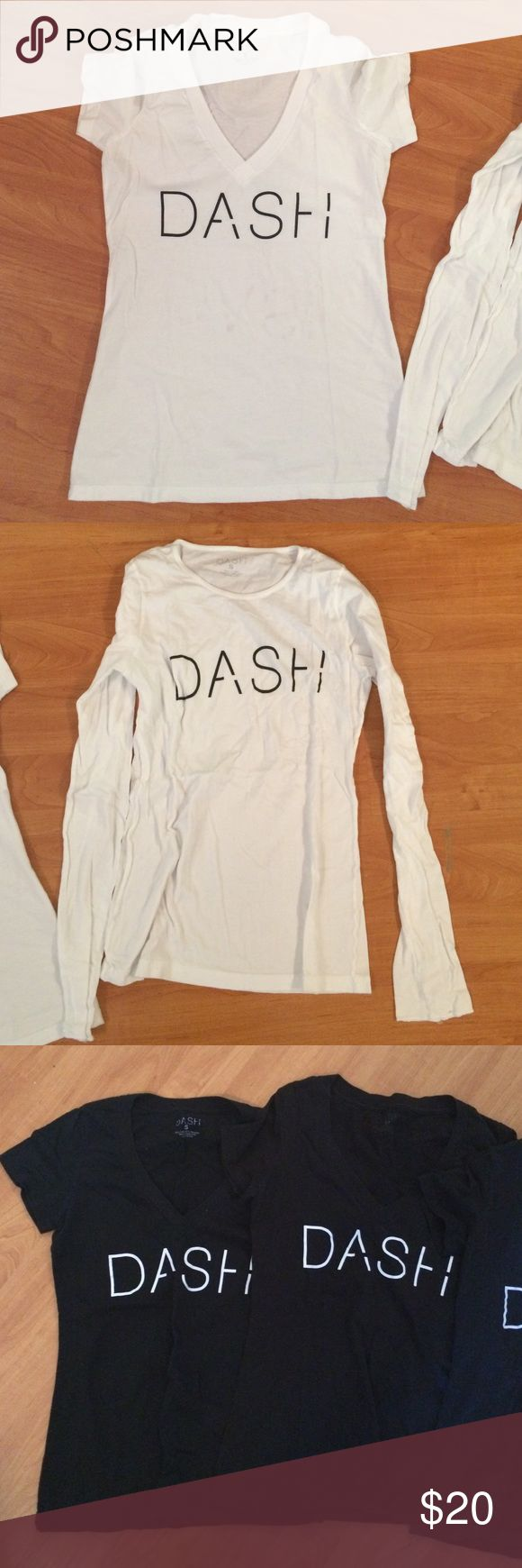 DASH Kardashian store tee Used but in good condition! I have 5 DASH boutique tee's from the Kardashians Dash Boutique in Miami Beach. Kardashian Kollection Tops