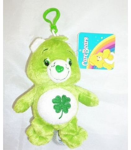 Toyland 5 Inch Beanie Care Bear Bag Clip Soft Toy - Green With 4 Leaf Clover (K131) 5 Inch Beanie Care Bear Bag Clip Soft Toy - Green With 4 Leaf Clover (K131) (Barcode EAN = 5030005037447). http://www.comparestoreprices.co.uk/care-bears/toyland-5-inch-beanie-care-bear-bag-clip-soft-toy--green-with-4-leaf-clover-k131-.asp