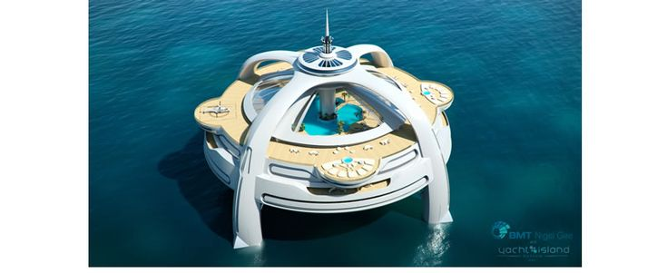 Yacht Island Design Concepts >> Project Utopia... amazing. This site has insane projects!