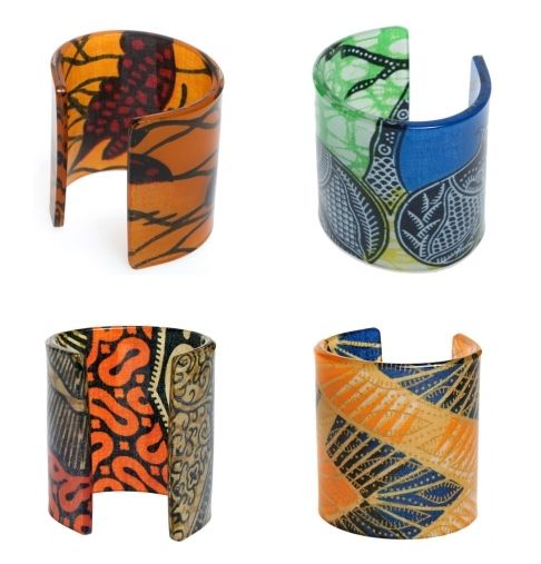 Joansu cuffs...i just LOVE these..totally African inspired and beautiful
