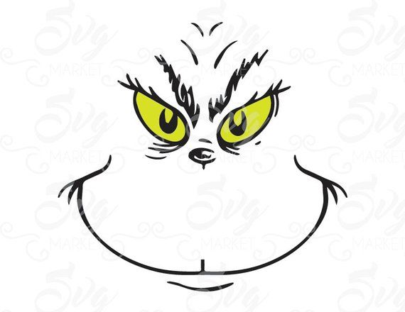 Who Loves The Grinch Topic Grinch Face Svg Grinch Stole Christmas Grinch Christmas Party