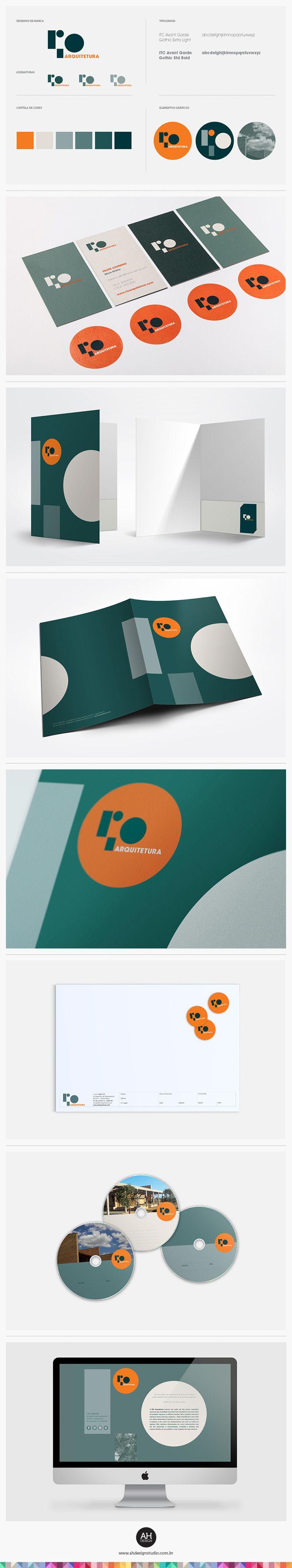 AHdesign Studio, Identidade Visual e Website para Rio Arquitetura #design…                                                                                                                                                                                 Mais
