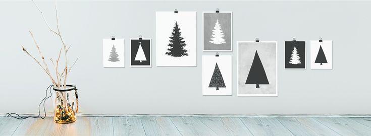 Poster Collage zu Weihnachten selber gestalten - Printcandy