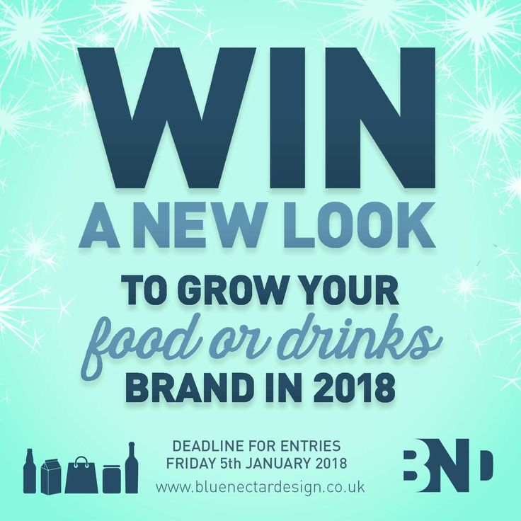 • COMPETITION REMINDER •  WIN A FRESH NEW LOOK IN 2018* ** Is your product left on the shelf or flying off the shelves?  Enter via above link.    #BlueNectarWIN #shelfimpact  #newyearnewlook  #dontbeleftontheshelf