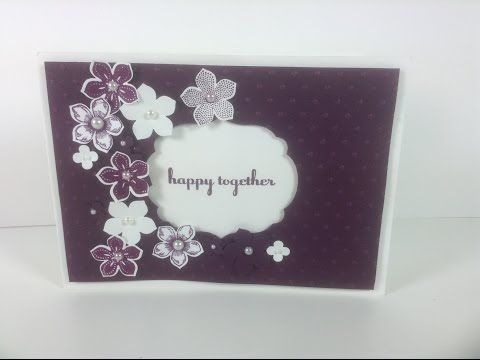 Petite Petals card with Dawn - YouTube
