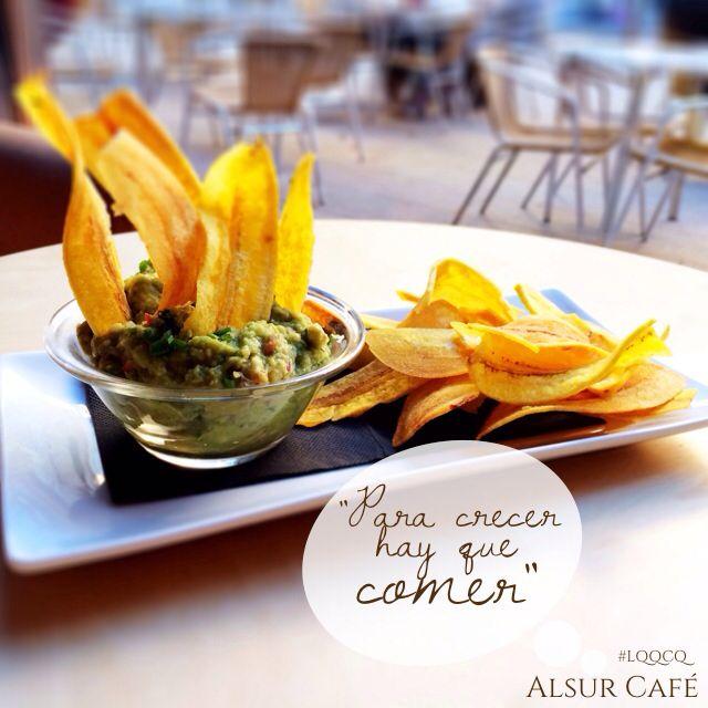 """Para crecer hay que comer"" Foodie in Barcelona, Alsur Cafe #foodie #delicious #alsurcafe Follow the taste #followthetaste"