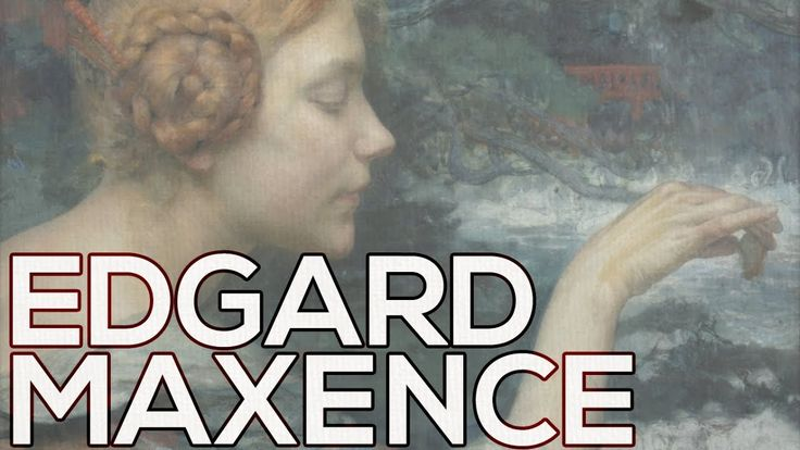 Edgard Maxence: A collection of 38 paintings (HD)