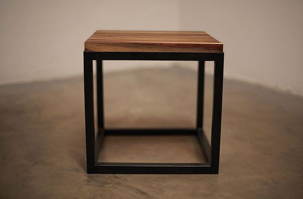 Brown Kiaat Side Table #ToTheSouth