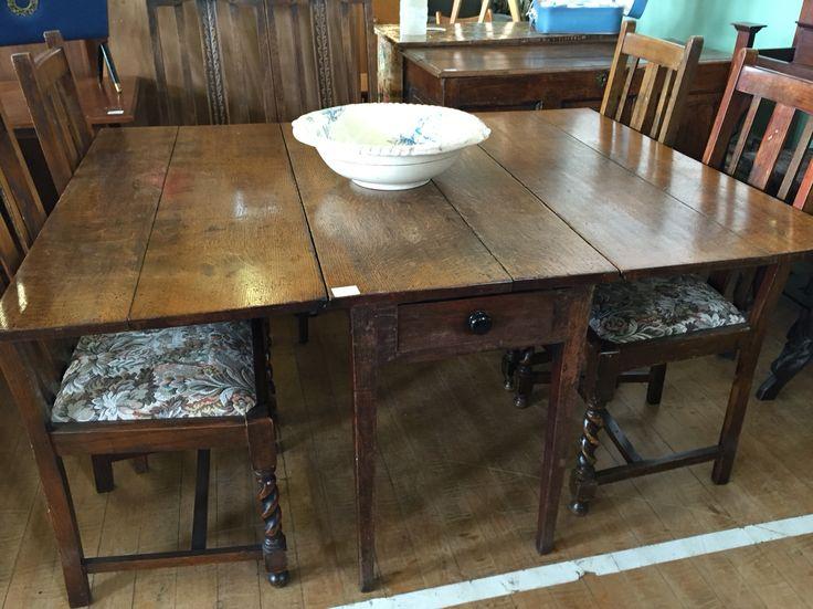 Levenshulme Antiques Village Oak dining table circa 1820. 29 best Kettles images on Pinterest