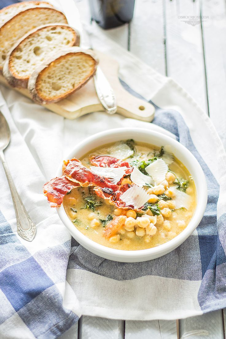 chickpea soup with kale