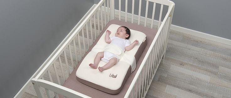 Porque la mejor posición para dormir para los bebés es en posicion supina...#Bibed #Babymoov #Confort