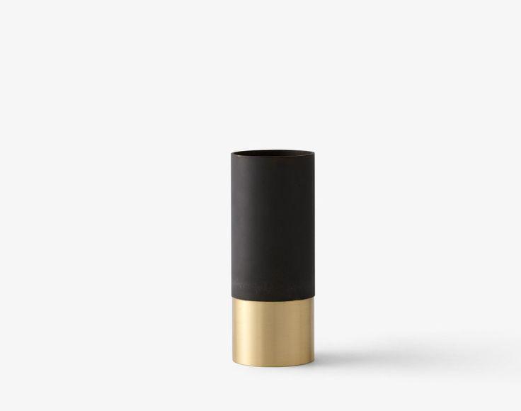 Váza True Color LP6 - černá / mosaz | DesignVille